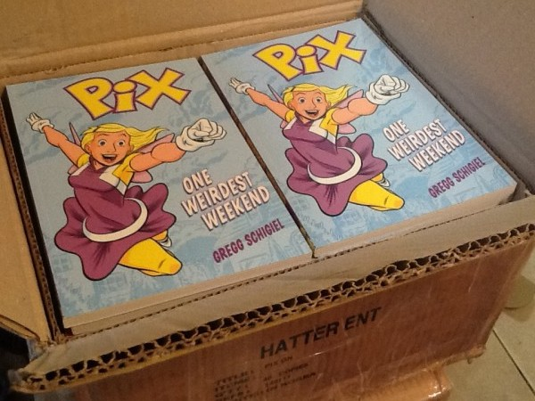 box of PIX books